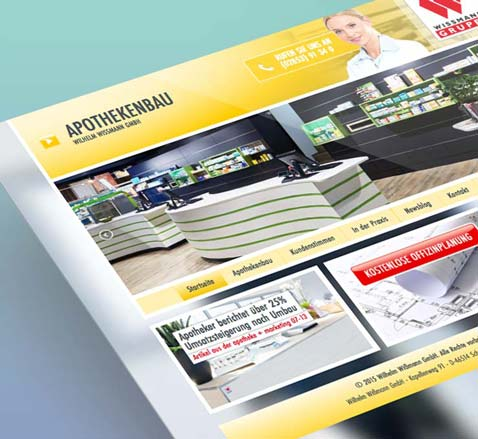 webdesign Programmierung Relaunch Redesign Essen