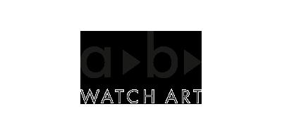 A B Watch Art Logo