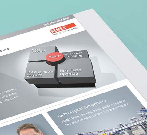 Digitale Medien REMEX Responsive Website Webdesigner grafikdesign