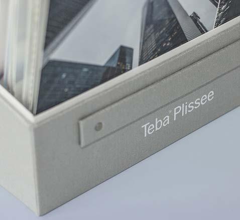 Teba Plissee Box Design Agentur Essen Ruhrgebiet