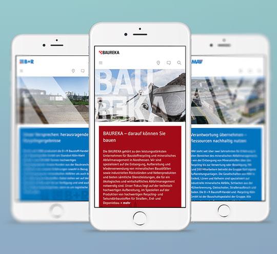 Webdesign Typo3 Programmierung Responsive Werbeagentur in Essen Ruhrgebiet